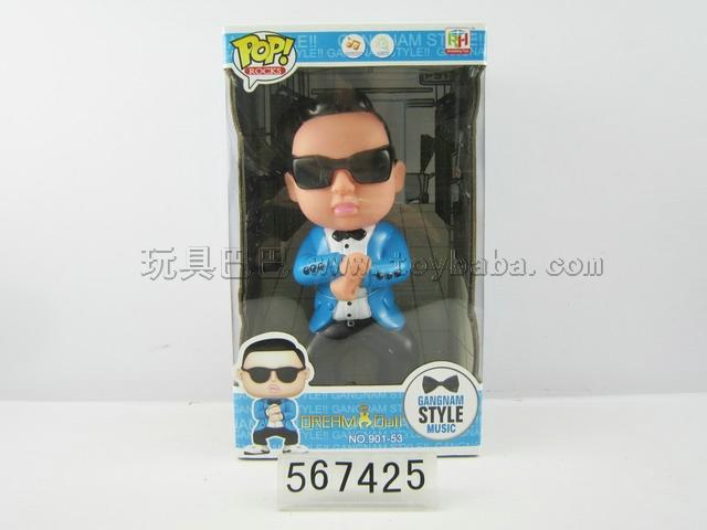 Lining plastic light bird uncle wang with jiangnan style music (bag button battery)