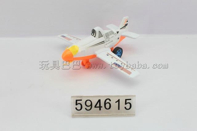 Inertia plane story/white, orange