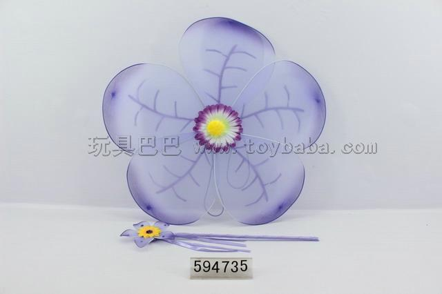 Sunflower angel wings + Stick