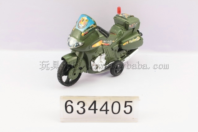 Pull military motorcycles