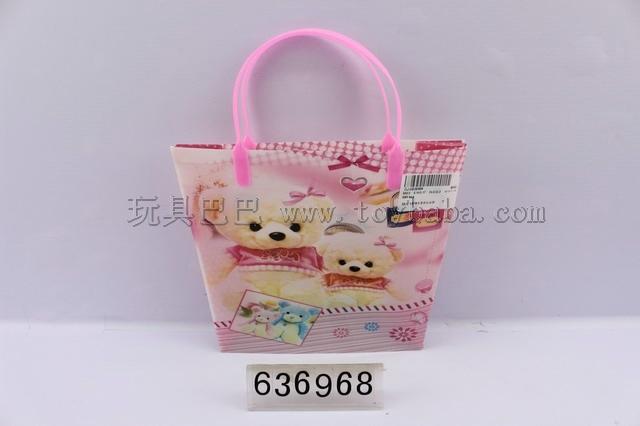 18 * 23.5 * 8 cartoon bear gift bags