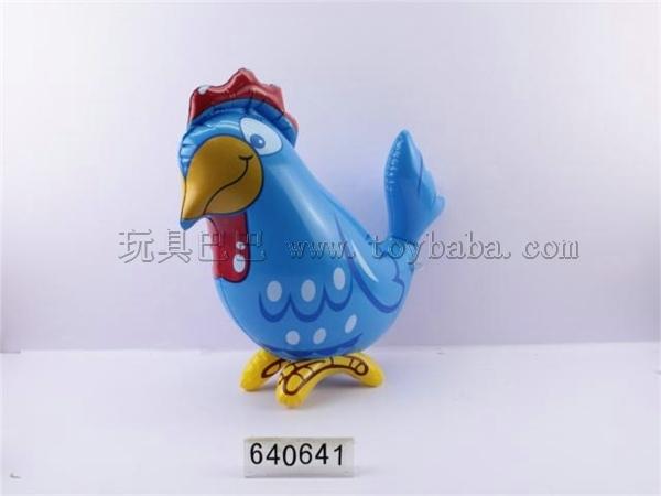 Inflatable auspicious chicken