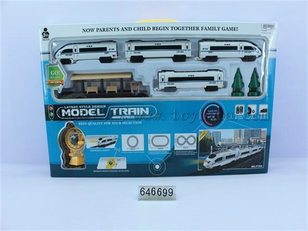 Remote accelerating train track ( NOT INCLUDED)