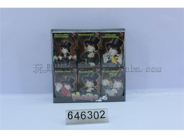 6 in 1 magic props boxed set of 6