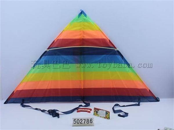 105 cm triangle kite wiring