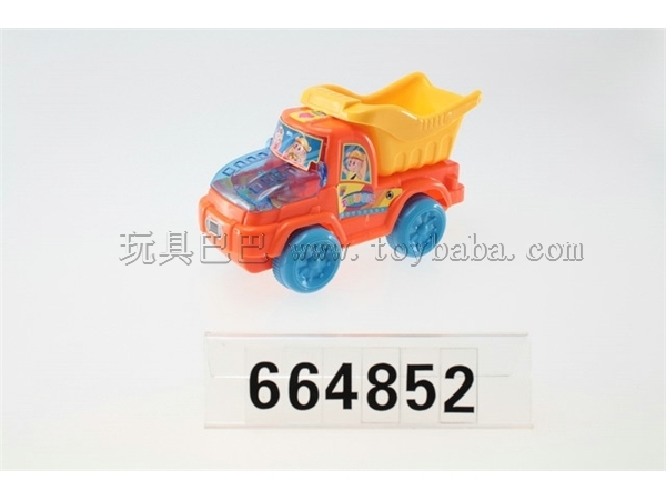 Pull Works dump truck / 3COLORS