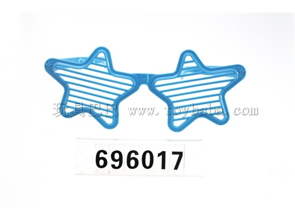 Pentagram shutter glasses / 3 color combination