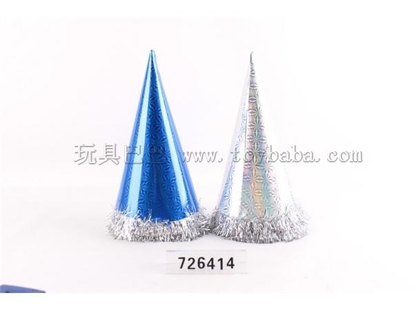 10 PCs. Zhuang 34cm multicolor laser lace caps