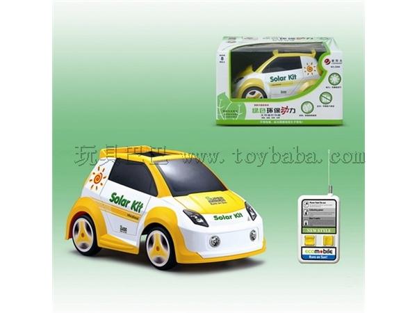 [Chinese] solar remote control car