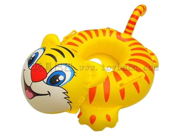 The tiger inflatable boat