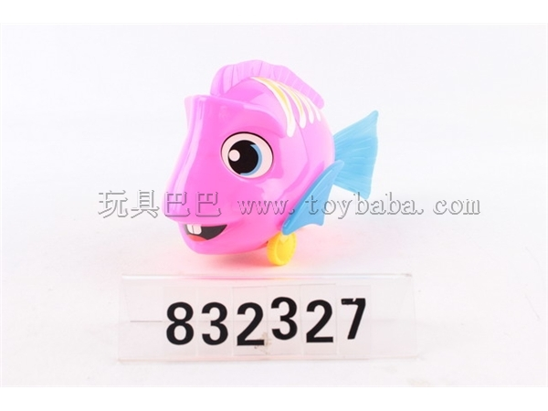 Solid color flashing stay wire fish with bell / 3-color mixed package