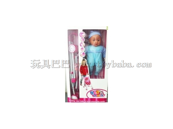 16 inch trolley cotton core doll