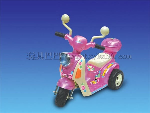 The electric motor tricycle