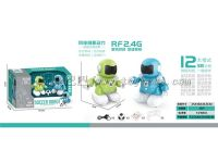 哆咔奇遥控2.4G足球对战机器人/2pcs