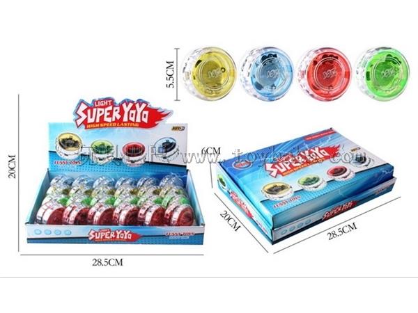 Transparent yo-yo strip light / 24 PCS