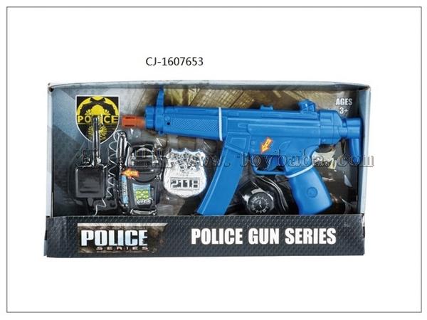 Factory direct selling hot flint gun set police set cj-1607653
