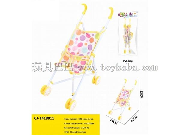 Children's toy trolley children's toy men's and women's trolley neutral toy trolley infant toy trolley bag baby trolley