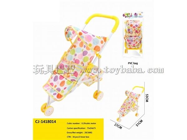Children's toy trolley children's toy men's and women's trolley neutral toy trolley infant toy trolley bag infant sun sh