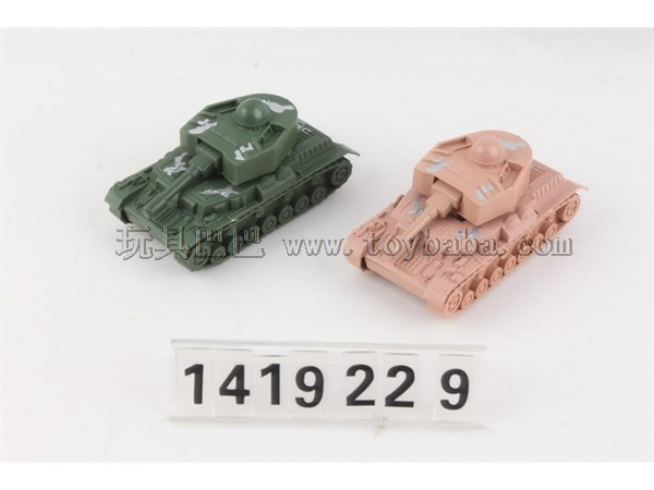 Inertial tank military toy inertial tank vehicle