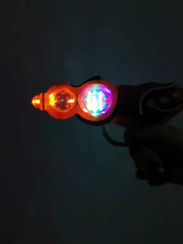 Electric flash gun space gun toy