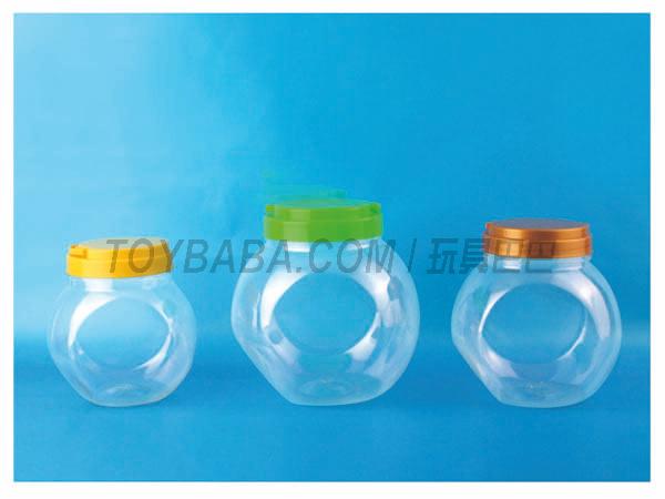 Plastic bottle blowing PET