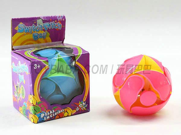 No light color changing ball 8 cm