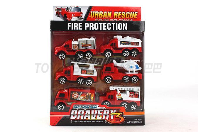 Return fire truck set