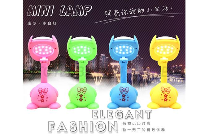 Doll charging table lamp (pink); Green; Yellow; (blue)