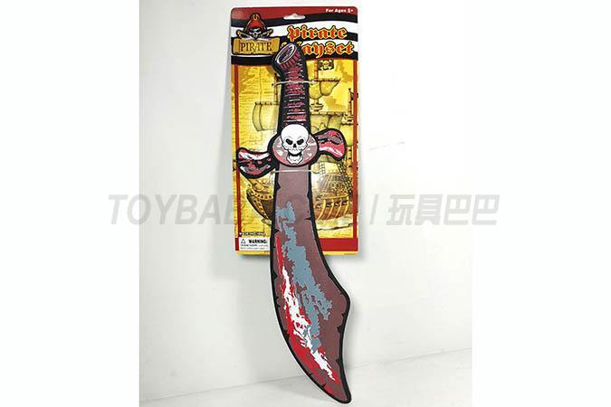 EVA pirate knife