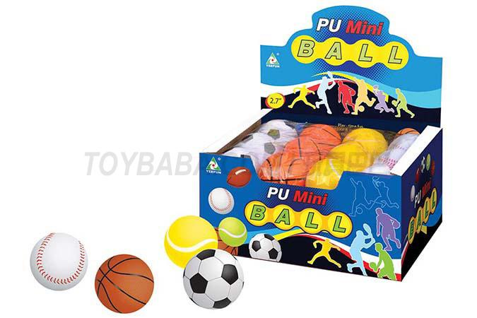 24 2.7-inch Pu balls / display box