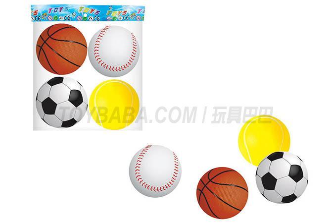 4 1.5-inch Pu balls / bag