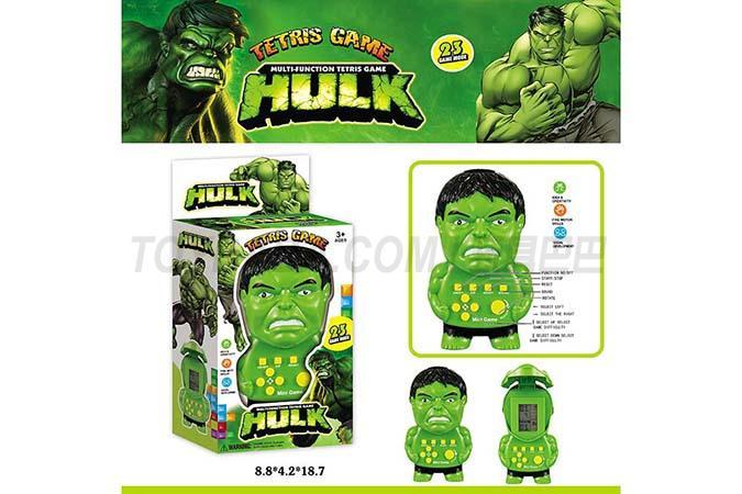 Hulk game console - English