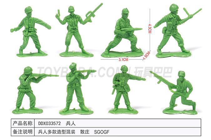 Children's educational toy series soldiers