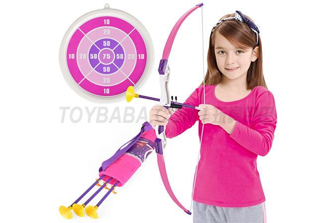 Sucker shooting bow and arrow children's sports bow and arrow combination bow and arrow