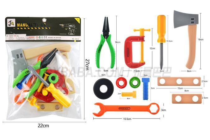 PVC bag (tool) building block toy