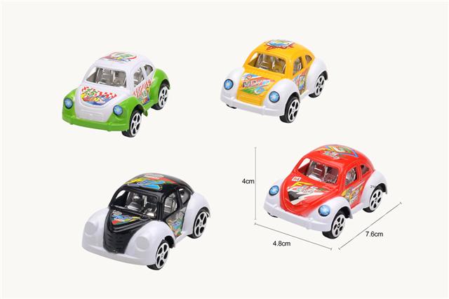Spray paint return beetle racing