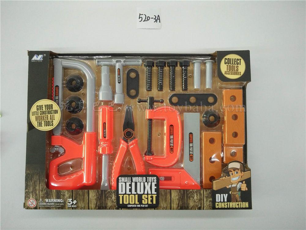 Large saw tool set