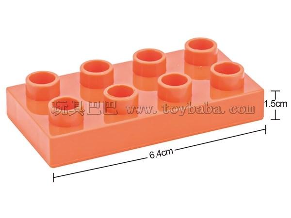 Low 8-hole children's puzzle building block accessories