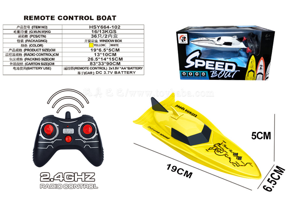 Single wing speedboat (including electricity)