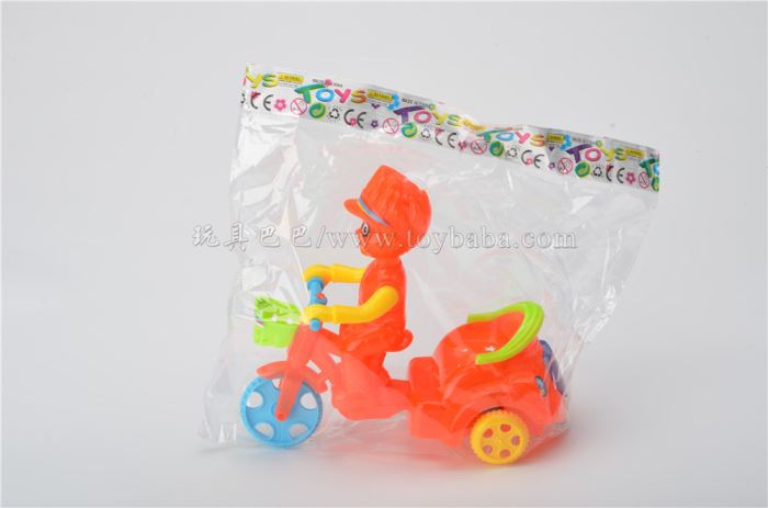 Pull light tricycle stall toy