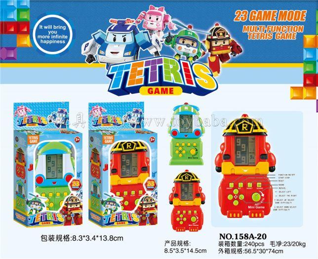 Poli game machine stall toys