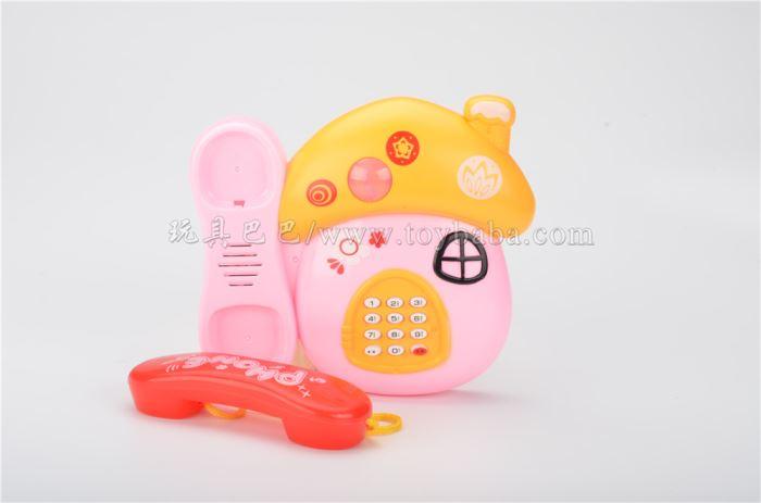 Mushroom telephone stall toys