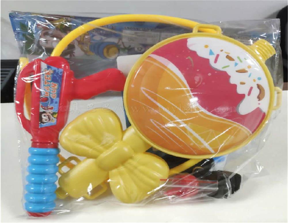 Cherry lemon lollipop backpack water gun