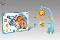 床头铃(音乐)婴儿旋转摇铃玩具