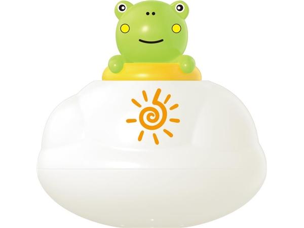 Bathroom floating rain clouds (frog) bath toys