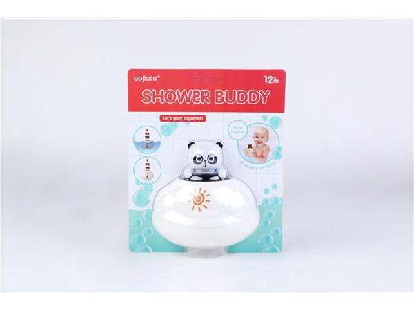 Bathroom floating rain clouds (panda) bath toys