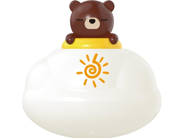 Bathroom floating rain clouds (brown bear) bath toys