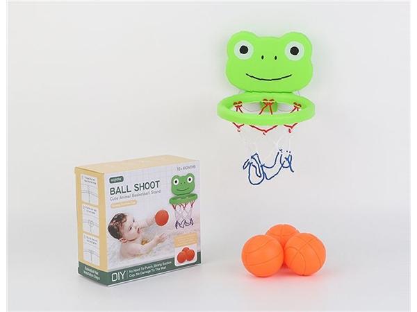 Bathroom basketball box frog (3 balls)
