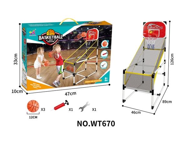 Indoor basketball rack sports toys