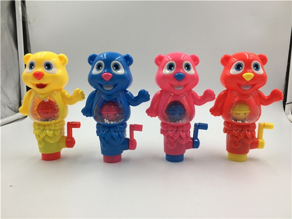 Hand lights bear candy toys gifts small toys